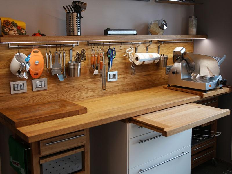 Da creativo cucina te fai - Piano lavoro cucina ...
