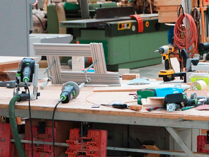 Banco Da Lavoro Kupper : Banchi da lavoro con piano in legno beta c w